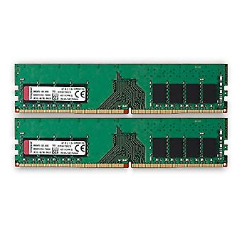 Kingston Valueram Ram Memory 16 Gb 2 x 8 Gb, Ddr4, 2400 Mhz, Black