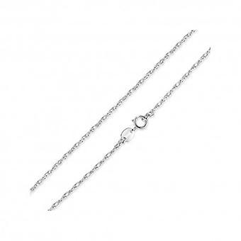sterling sølv halskjede med hummer lås - 5377
