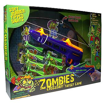 Zombie Crossdart With Target Set