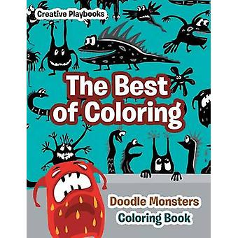 The Best of Coloring Doodle Monsters Coloring Book by Creative Playbooks