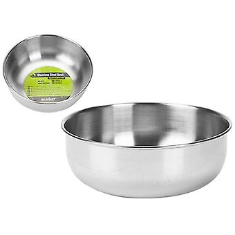 Summit Stainless Steel Bowl Camping Outdoor Park Hiking Travel