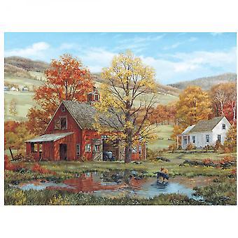 Friends in Autumn 1000 Piece Jigsaw Puzzle