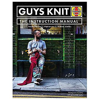 Guys Knit - The Instruction Manual by Nathan Taylor - 9781785211997 Bo