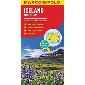 Iceland Marco Polo Map by Marco Polo - 9783829755931 Book