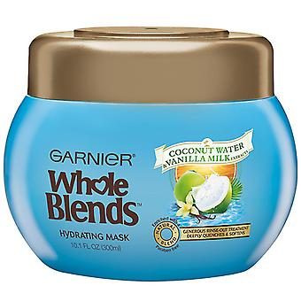 Garnier hydrating mask, coconut water & vanilla milk, 10.1 oz