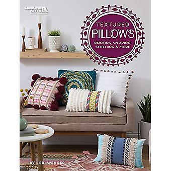 Textured Pillows - Personalize with Painting - Weaving - Stitching &am
