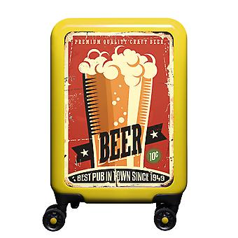 myTrolley Beer S, 4 rolls, 55 cm, 32 L, Yellow