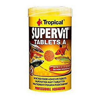 Tropical Supervit Tablet 50 Ml (Fish , Food , Warm Water)