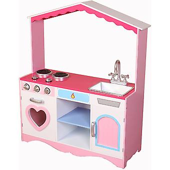 Kiddi Style Large Girls Heart Kitchen