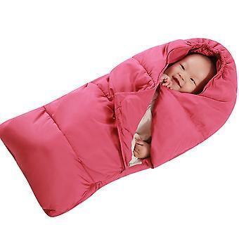 YANGFAN Cute Baby zahuštěné Cocoon Typ Dutá bavlněná deka