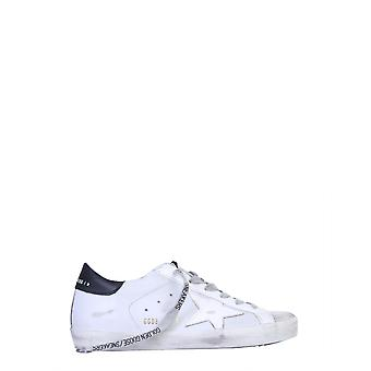 Golden Goose Gwf00101f00010160248 Women's White Leather Sneakers