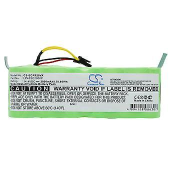 Bateria para Haier Ecovacs LP43SC2000P CR120 KK-8 X-500 SWR-T320 T321 T322 T322 T325