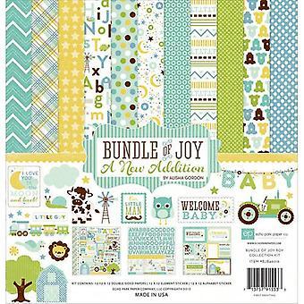 Echo Park Bundle Of Joy 2 Boy 12x12 Inch Collection Kit