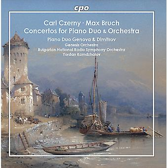 Bruch / Dimitrov - Concertos for Piano Duo & Orchestra [CD] USA import