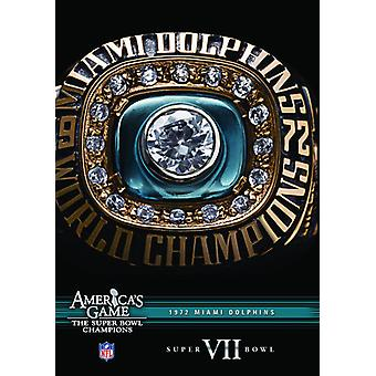 NFL America's Game: 1972 Dolphins (Super Bowl VII) [DVD] USA import