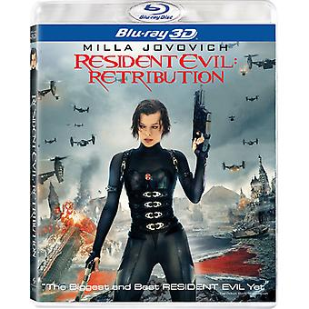 Resident Evil: Retribution 3D [BLU-RAY] USA importare