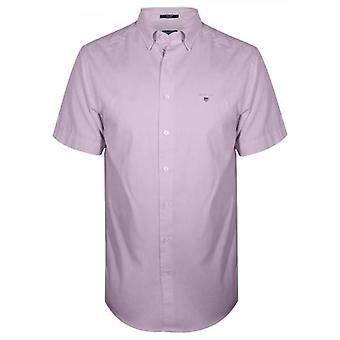 GANT Pink Oxford Regular Lyhythihainen paita