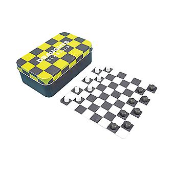 Classic Mini Draughts Magnetic Travel Game