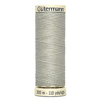 Gutermann Sew-all 100% Polyester Thread 100m Hand and Machine Colour Code  - 854