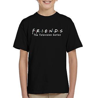 Friends TV Series Logo Kid's T-Shirt