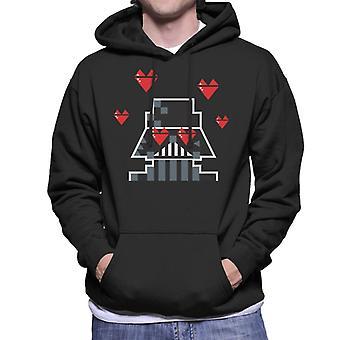 Star Wars Darth Vader Heart Eyes Men-apos;s Sweatshirt à capuchon
