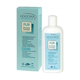 Unscented Shower Gel and Shampoo 250 ml
