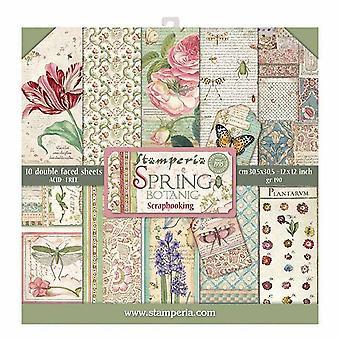 Spring Botanic 12x12 Tums Papperspaket (SBBL50)