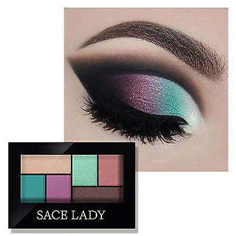 Eyeshadow Palette Makeup, Glitter With Brush Makeup Long Lasting Waterproof