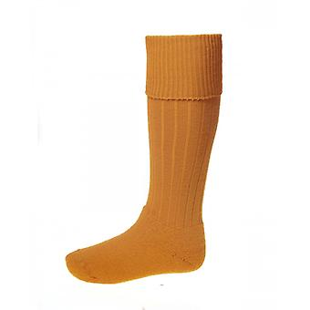 House of Cheviot Country Socks Scarba ~ Ochre