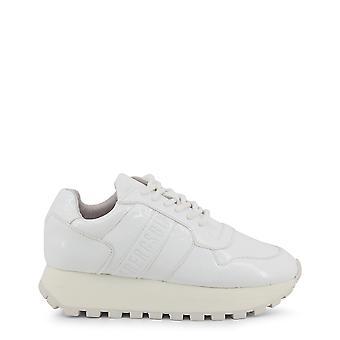 Bikkembergs kvinnor's syntetiska lackläder sneakers