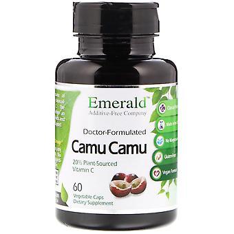 Emerald Laboratories, Camu Camu, 60 Vegetable Caps