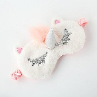 Unicorn 3d Sleeping Eye Mask - Eye Cover Shadow , Soft Cover voor reizen