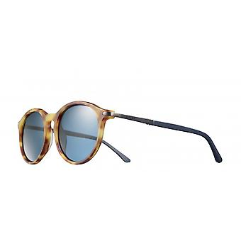 Sunglasses Unisex Cat.3 matte brown/blue (JSL11590518)