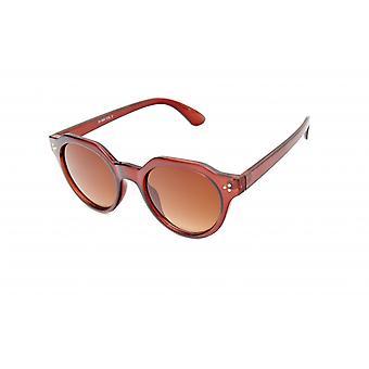 Gafas de sol Unisex moderno marrón/marrón/transparente