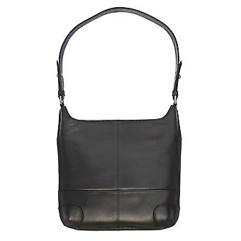 Primehide läder axel handväskan Womens Everyday bag Damer 842