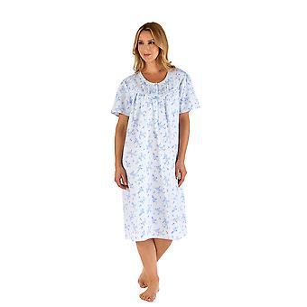 Slenderella ND66200 Women's Floral Nightdress