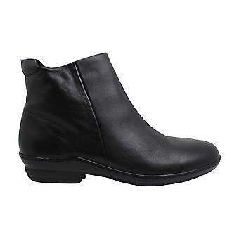 David Tate Womens Simplicity Leather Closed Toe Ankle Fashion Boots