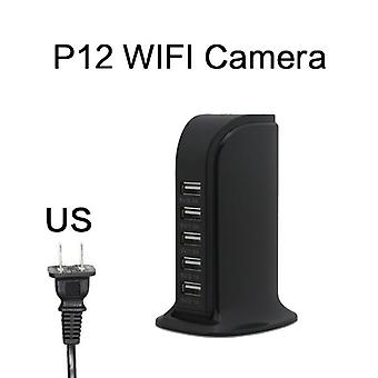New Hd 4k Mini Wifi Charger Camera Real-time Surveillance