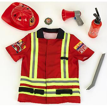 Klein Firefighter Costume With Accessories