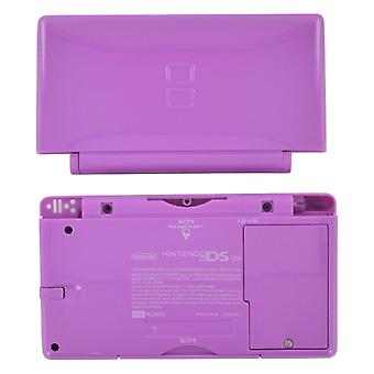 Full housing shell for nintendo ds lite console complete casing repair kit replacement - purple | zedlabz