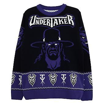 WWE The Undertaker Men's Knitted Jumper | Mercadoria Oficial
