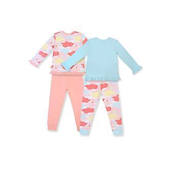 OETEO Toddler 4-Piece Jammies Set