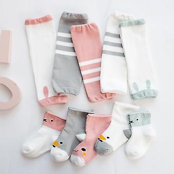 Vauvan jalkojen lämmittimet sukat, polvisuojat, indeksointisuoja
