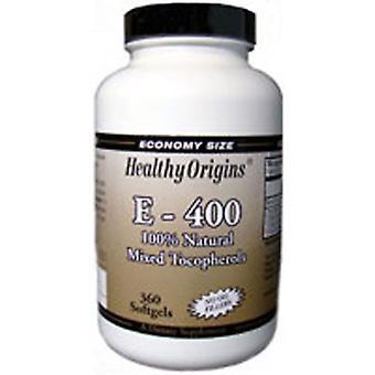 Healthy Origins Vitamin E 400 IU, 360 soft gels