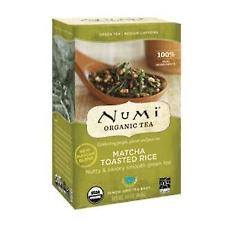 Numi Tea Green Tea, Toasted Rice 18 bags