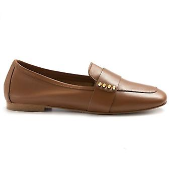 Moccastic Woman Nouvelle Femme In Nappa Color Leather