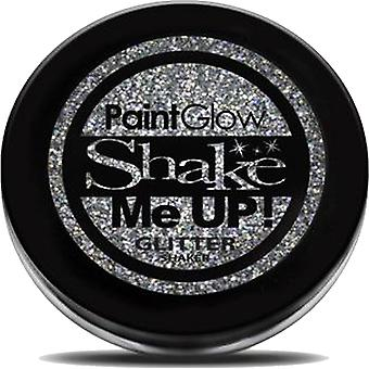 PaintGlow Holographic Glitter Shaker - Silver - 5g