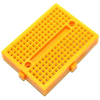 170pt Yellow Solderless Breadboard