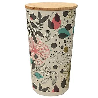 Wisewood Botanical Bamboo Storage Jar, Large
