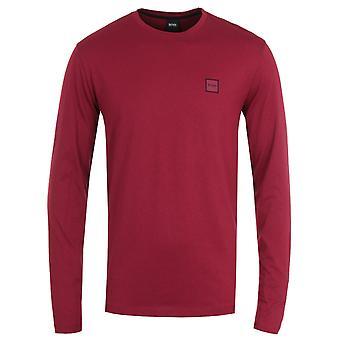 BOSS Tacks Red Long Sleeve T-Shirt